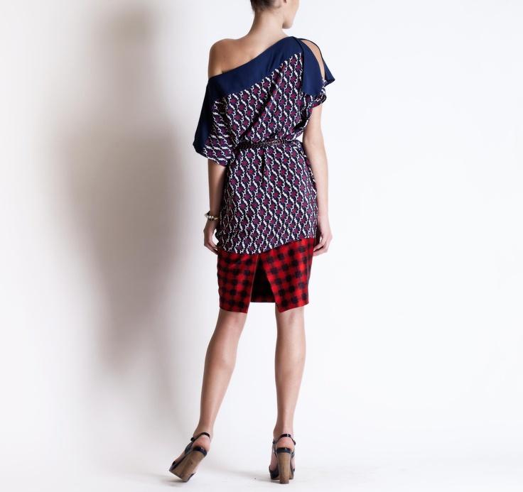 Michel Klein SS2013 Tunic Dress #ModeWalk #luxury #fashion #MichelKlein #tunic #dress #print