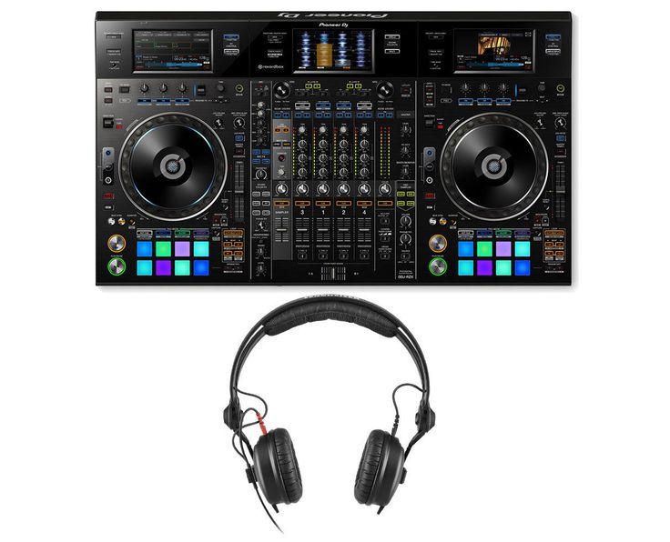 Pioneer DDJ-RZX Digital Rekordbox DJ Controller  HD 25 PLUS DJ Headphones