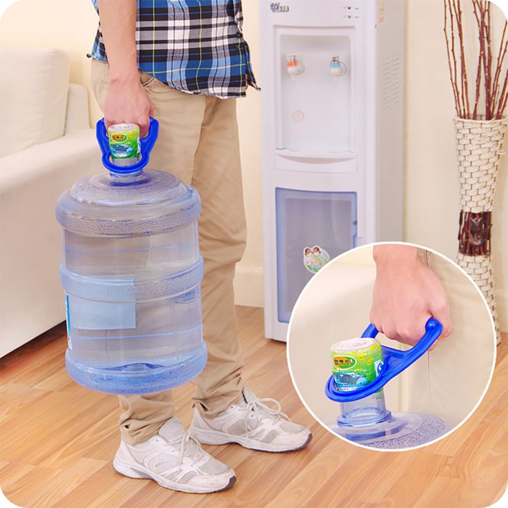 Good Quality Bottled Water Pail Bucket Handle Water Upset Nergy Bottled Water Carry Water Handle Pail Thickened Life Tools