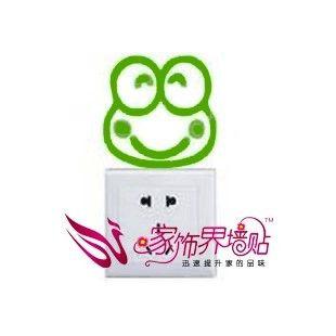 Настенный выключатель стикер Джек наклейки холодильник Корея творческий милый мультфильм характер детская комната украшения лягушка