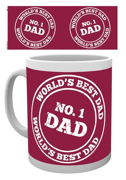 Father's Day No 1 Dad - Mok