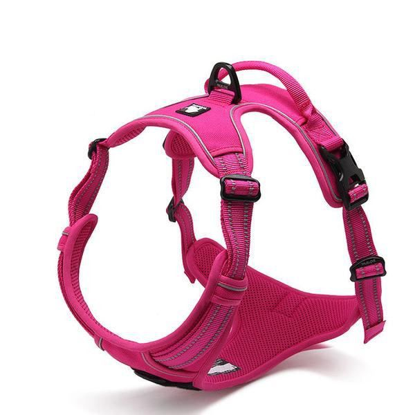Front Range No-Pull Dog Harness. 3M Reflective Dog Vest with Handle