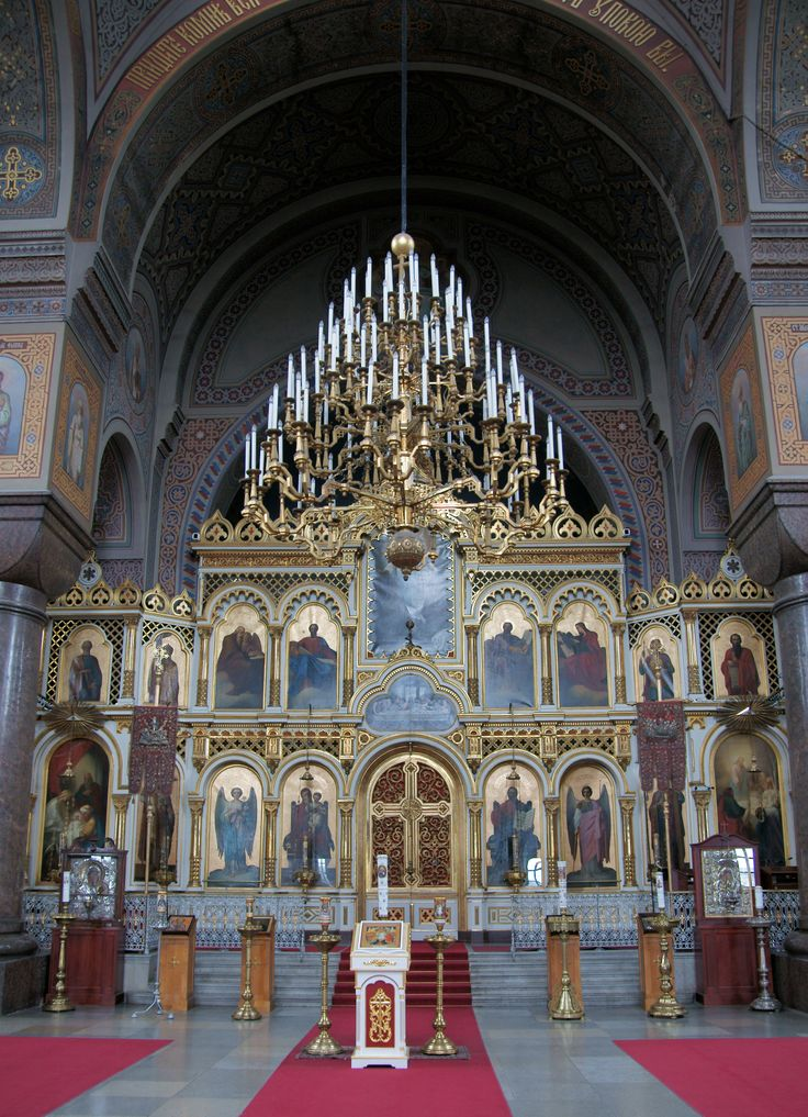 . Uspenski Orthodox Cathedral in Helsinki, .