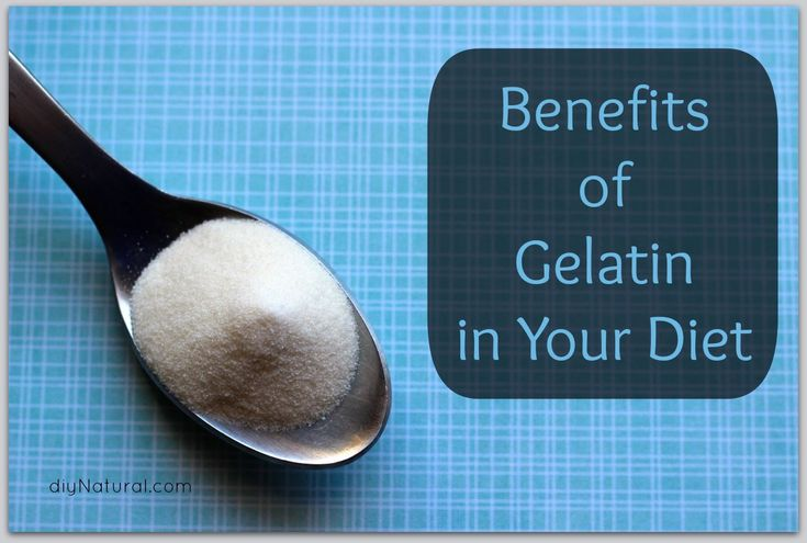Benefits of Gelatin in Your Diet - Gelatin can HEAL YOUR JOINTS and boost collagen in the skin to HELP YOU LOOK YOUNGER!