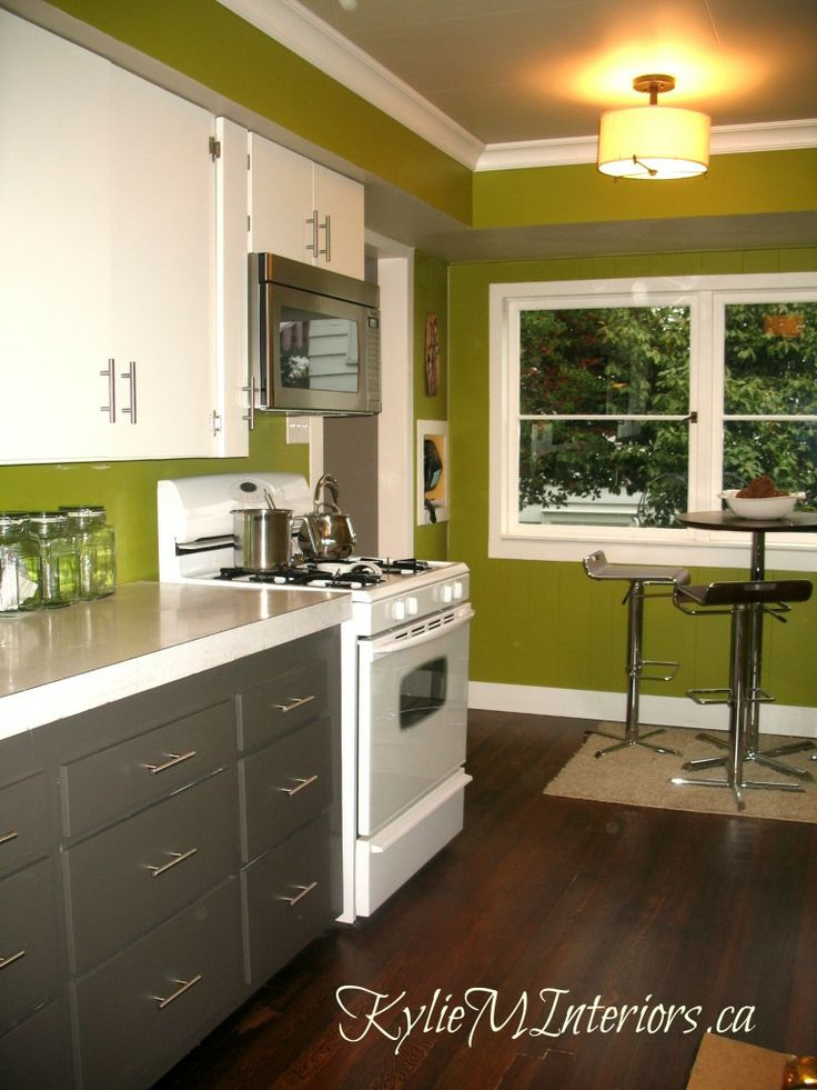 White Kitchen Green Walls 78 best apple a green kitchen walls ideas images on pinterest