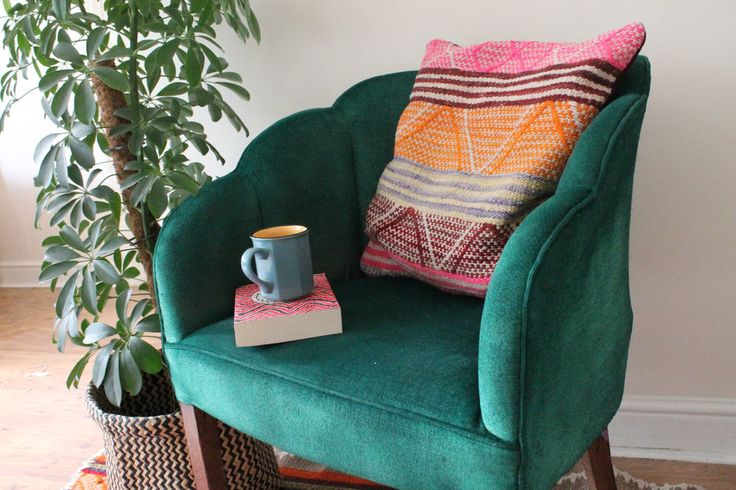 Find out how I saved £900 and gave my antique chair a new lease of life by  painting it.