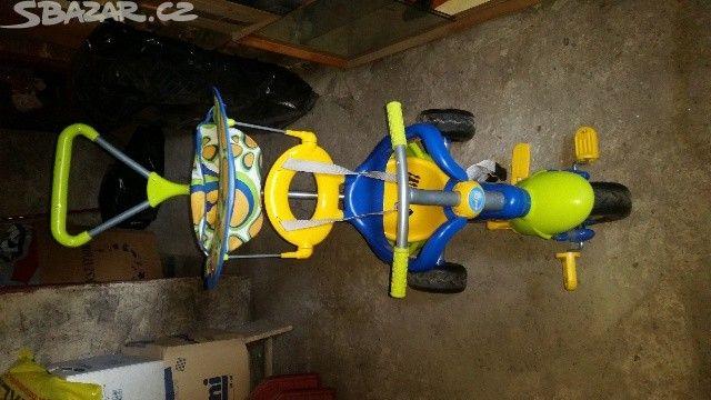 Jednou použité dětské vozítko. Původní cena 1.890,- - obrázek číslo 1