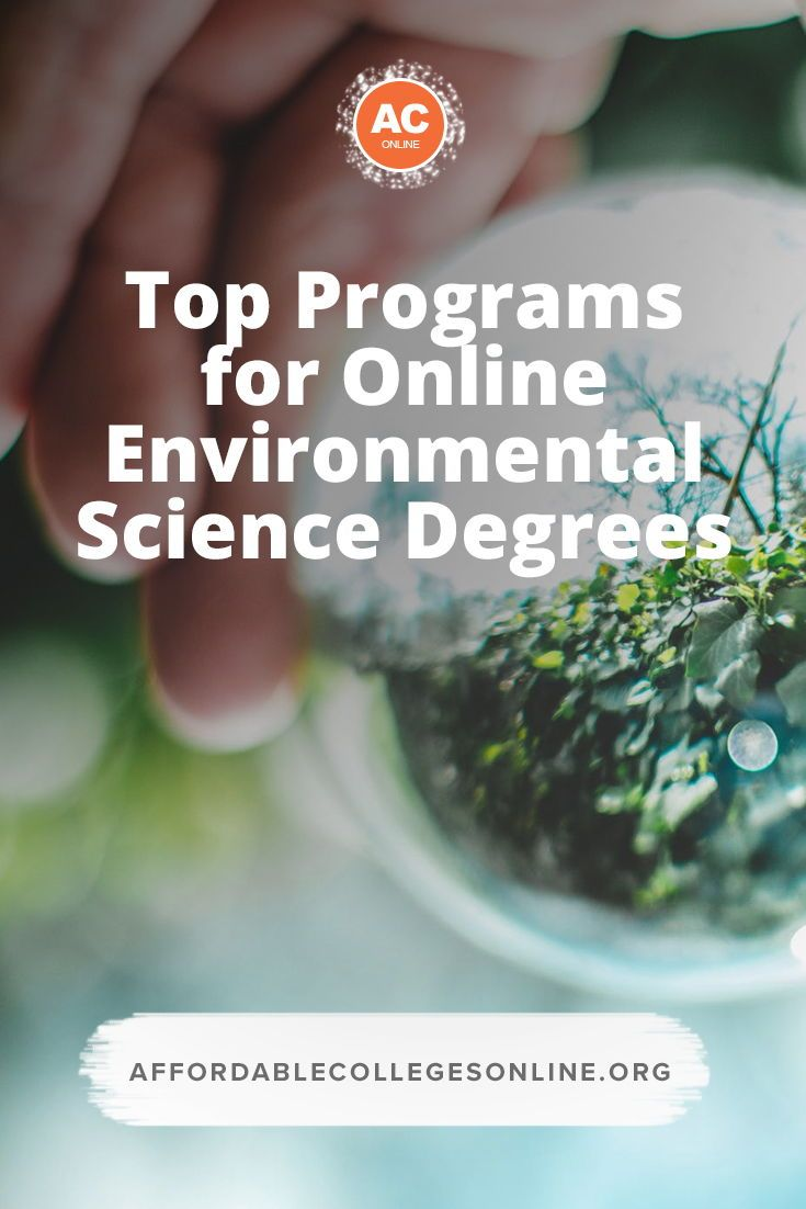 Best Environmental Science Degrees Online Environmental Science