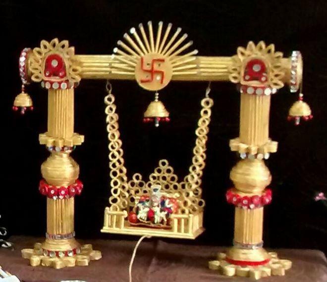 61 Best Janmashtami Decoration Ideas Images On Pinterest