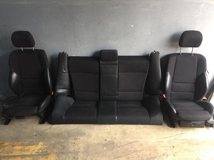 Oferta Black Friday:Interior recaro coupe bmw e46 semi piele (cu fete usa) 750 lei. Tel 0736932335