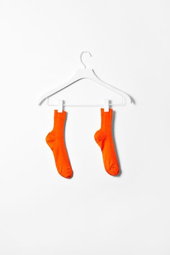 Orange..... Everyone should have a pair of socks this colour! Thought this picture would look great on my orange board