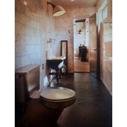 Neo-Metro Toilet in Mediterranean Bathroom from Columbus, Ohio Residence