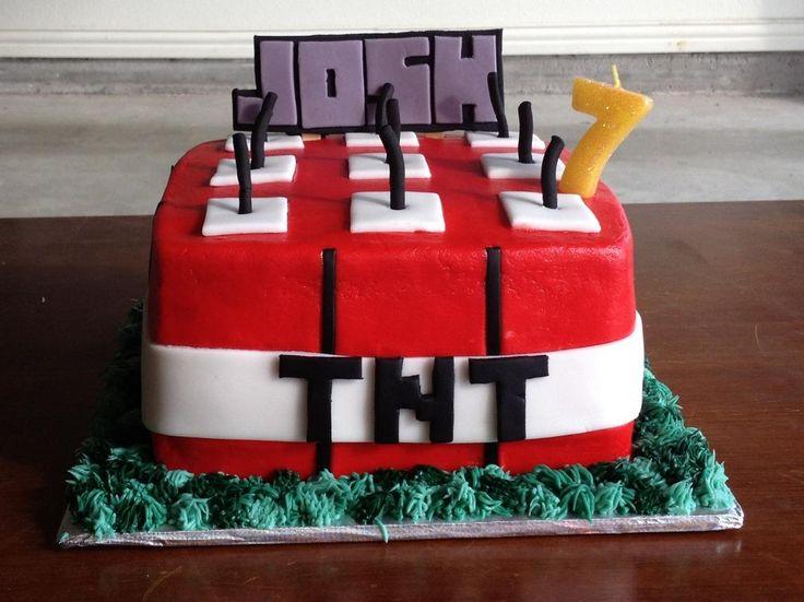 22 Best Minecraft Images On Pinterest Minecraft Birthday Cake