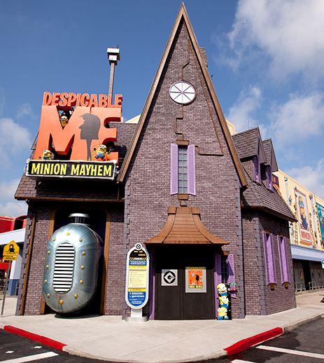 Despicable Me Minion Mayhem at Universal Studios Florida