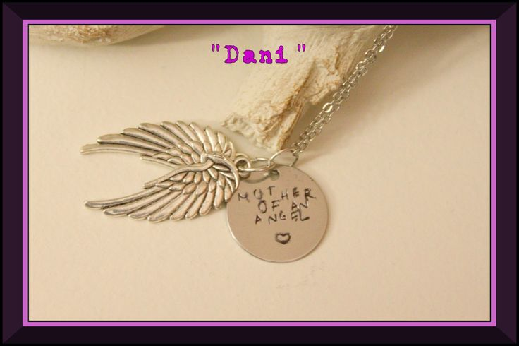 Miscarriage Necklace from Little One Treasures.
