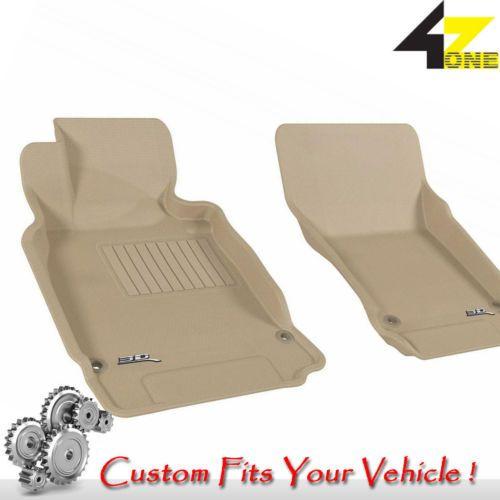 3D Fits 2011-2013 Infiniti M37 G3AC67007 Tan Waterproof Front Car Parts For Sale