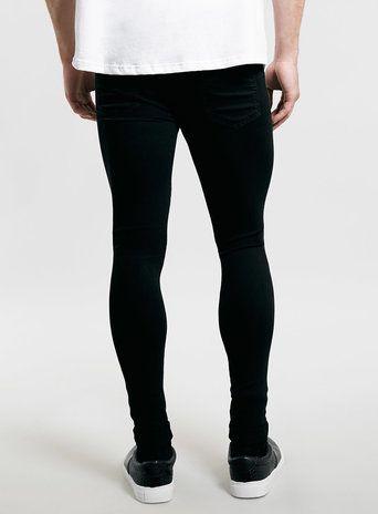 Maroon Skinny Jeans Men
