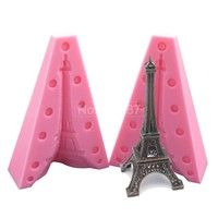 Wish | Eiffel Tower Silicone Cake mold Sugarcraft & Candy Mould Bakeware Cake Tools Fondant Silicone Soap Molds