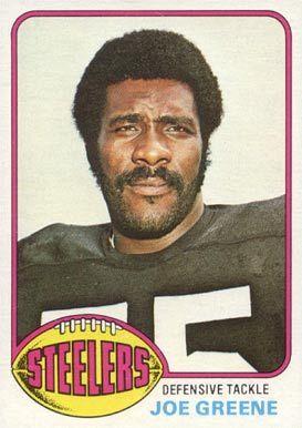 1976 topps football cards | name on card joe greene card number 245 year 1976 set name 1976 topps ...