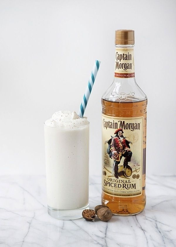 Coconut Rum Milkshake | 26 Boozy Milkshakes That Know How To Party