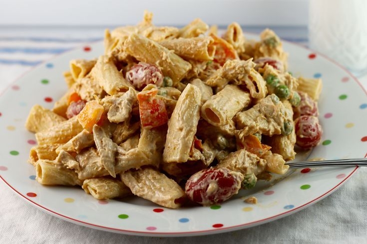 Chicken Riggies Salad is a Fun Takeoff on the Classic Casserole