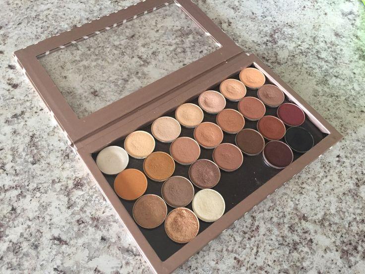 Custom Z-Palette: My Favourite Makeup Geek Shadows – Sincerely, Juliette