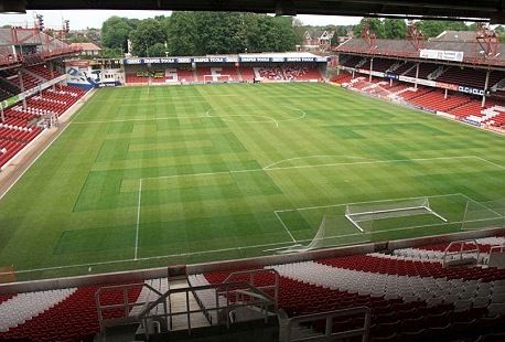 The Dell in Milton Road, Southampton, England was the home ground of Southampton F.C. between 1898 and 2001.