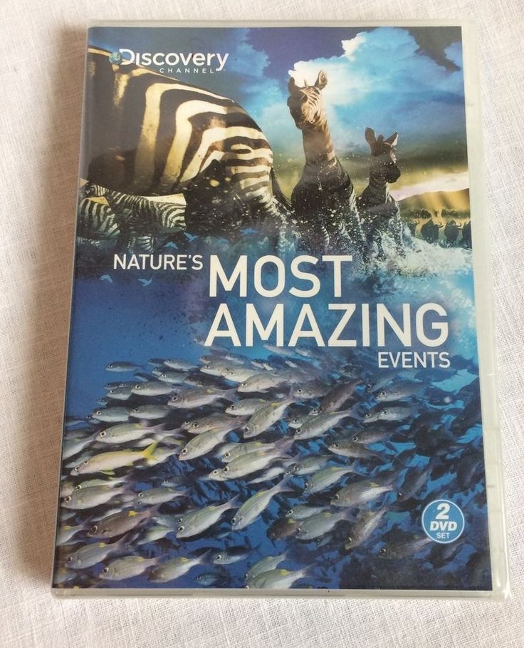 Discovery Channel Nature's Most Amazing Events DVD New Sealed 2 DVD Set