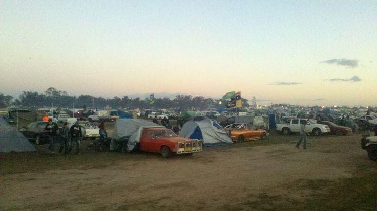 #aussie #outback #DeniUteMuster #crowdshot