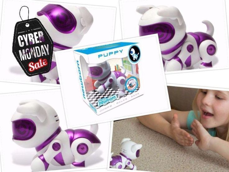 Robot Puppy Girls & Boys Purple Color Toy Cool Xmas Gift for Kids Dance & Sing #TeknoNewborns
