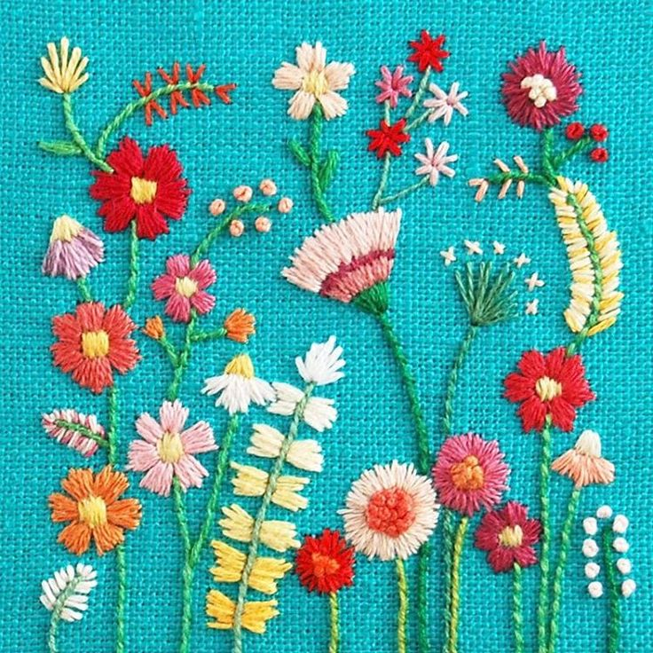 A reminder that a move away from standard backrounds can *make* a piece of otherwise pretty but ordinary embroidery.  embroidery by @happycactusdesigns