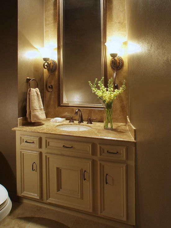 Design Bathroom Vanities Ideas ~ Bathroom powder room design pictures remodel decor and