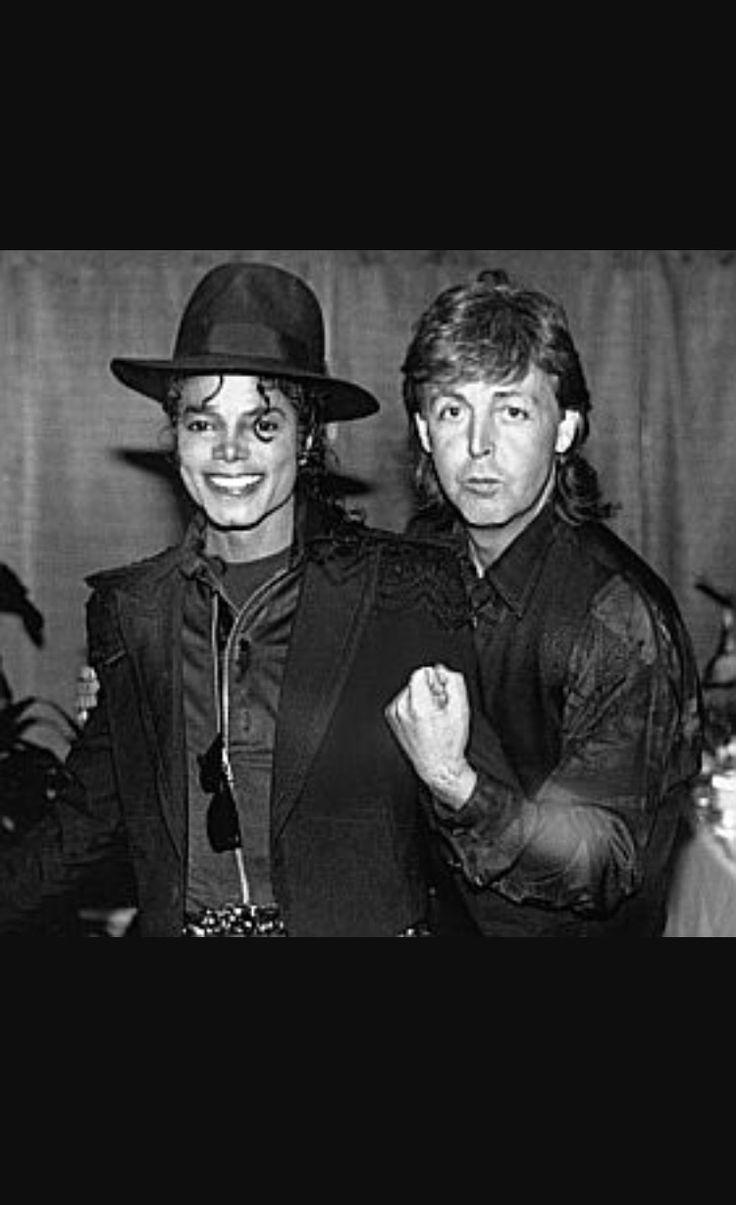 --Michael Jackson & Paul McCartney--