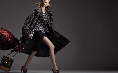 «Леопардовое» пальто - must have сезона