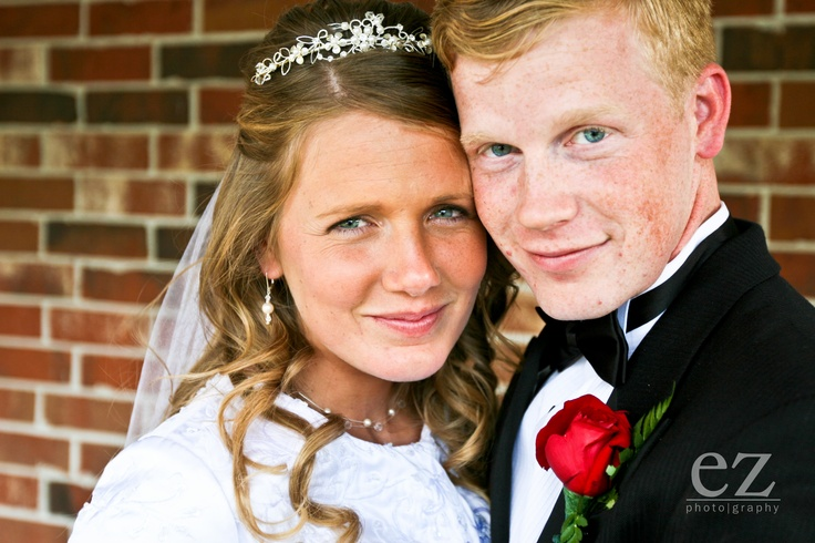 Priscilla Keller and David Waller Wedding - Priscilla is a beautiful bride!  Priscilla is the sister of Anna Duggar.