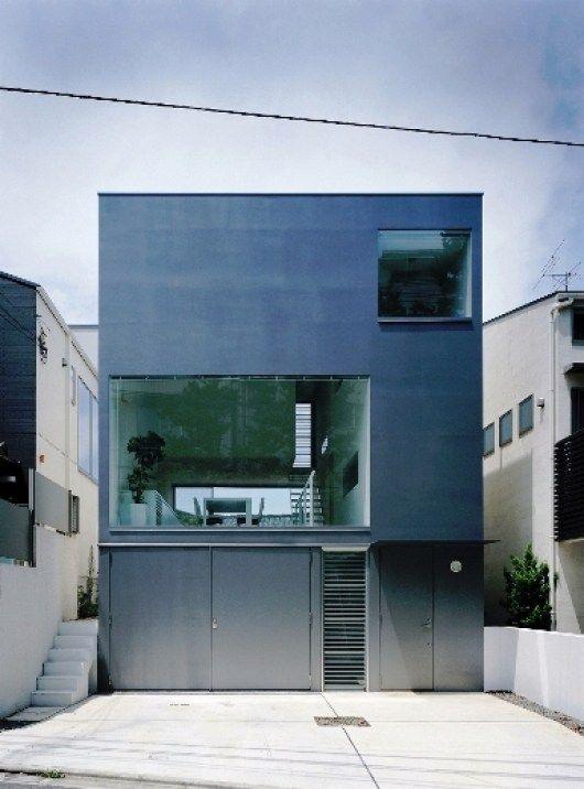 Minimalist Cube House Design Architecture