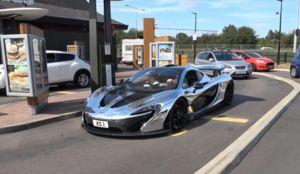 Chrome McLaren P1 Goes Through McDonalds Drive-Thru - Blooper News - News by you…