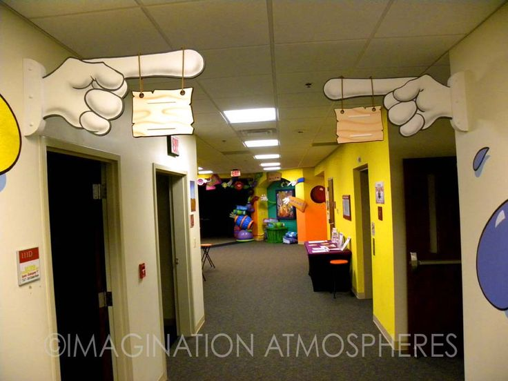children's ministry design | murals and themed environments for children's church ministry ...