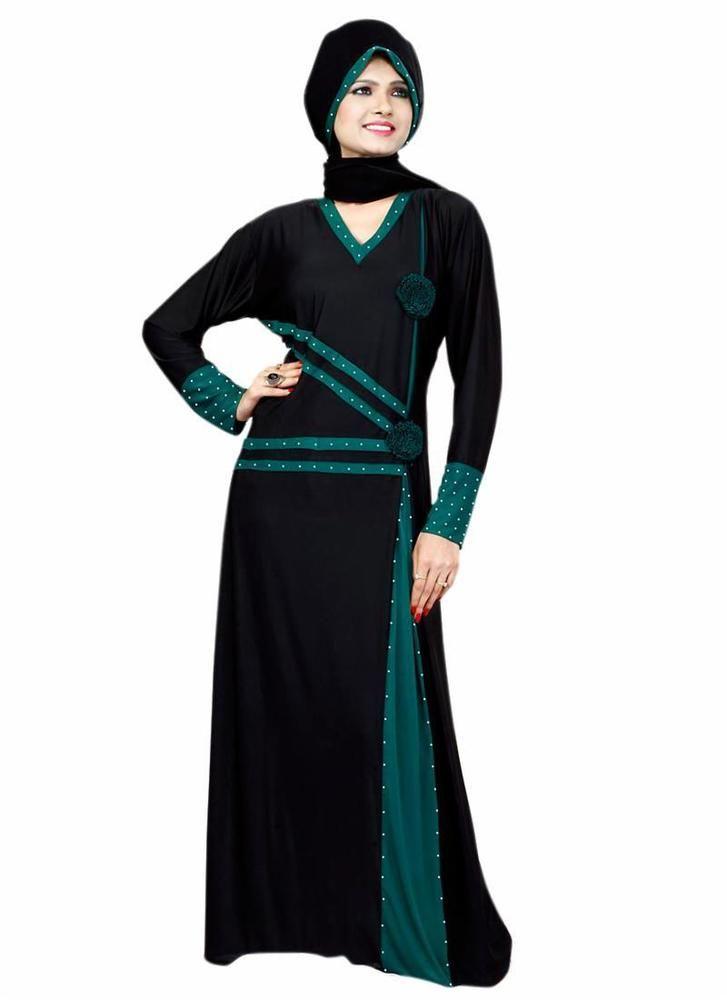 Dress Maxi Long Clothing Style Jilbab Dubai Islamic Dress Abayaa Hijab Bahiyyah…