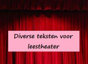 Leestheater: teksten