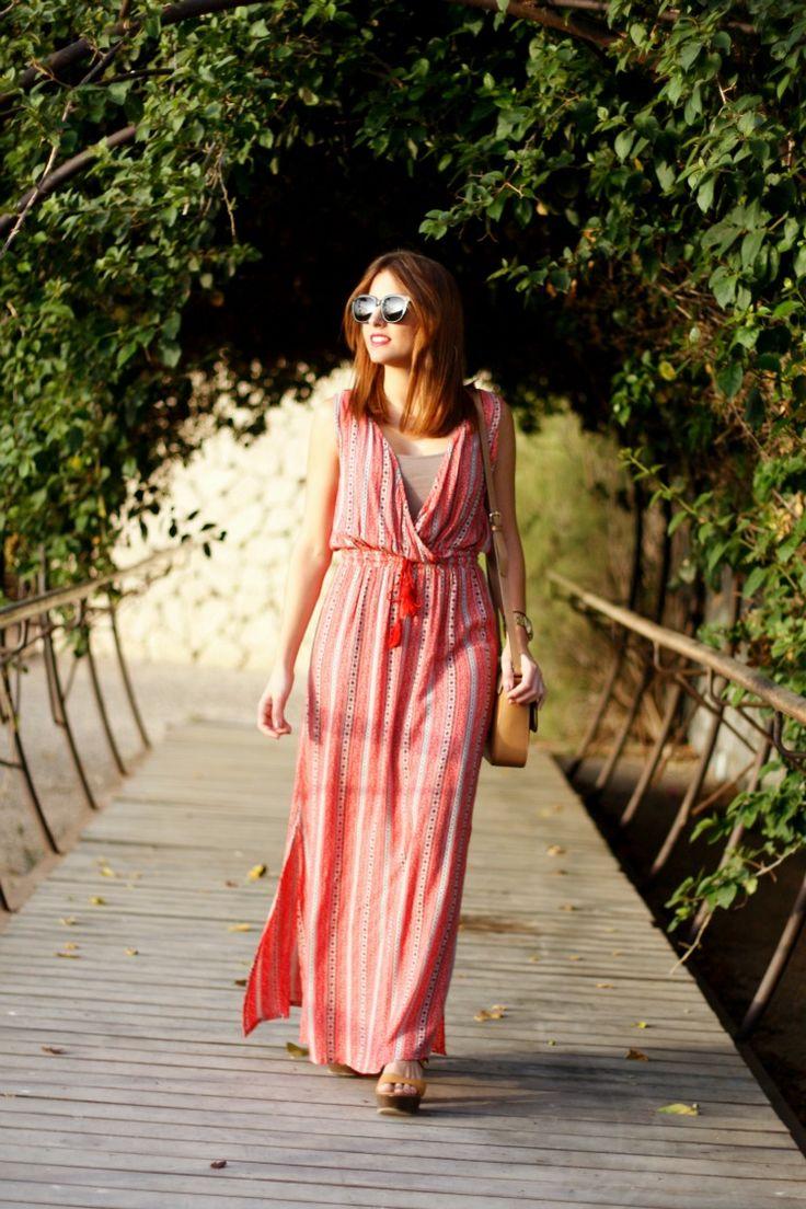 maxi vestido, vestido rojo, rojo, azteca, étnico, aztec, etnic, summer, maxi dress, dress, summer, red, verano,