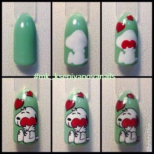 395 Best Images About Nail Art Step By Step On Pinterest