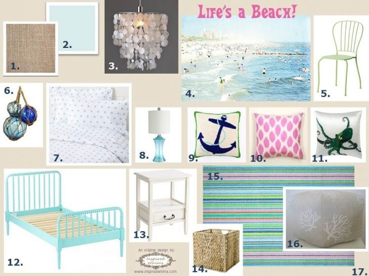 Beach themed bedrooms for teenage girls beach themed teen for Beach themed rooms for girls