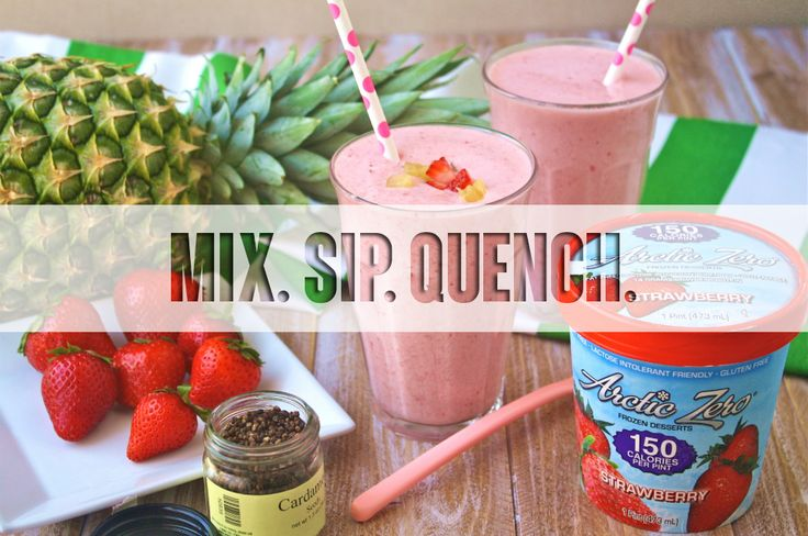 Tasty and delicious drinks made with Arctic Zero flavors!