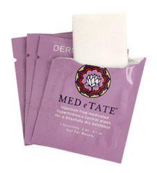 MED e TATE  sweat control towelettes