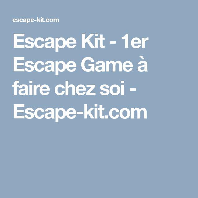 Escape Game imprimer chez soi.  Escape Game PDF gratuit avec scénario, DIY, pour fair en famille.