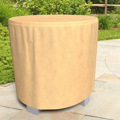 BudgeIndustries All-Seasons Patio Bar Table Cover Color: Tan