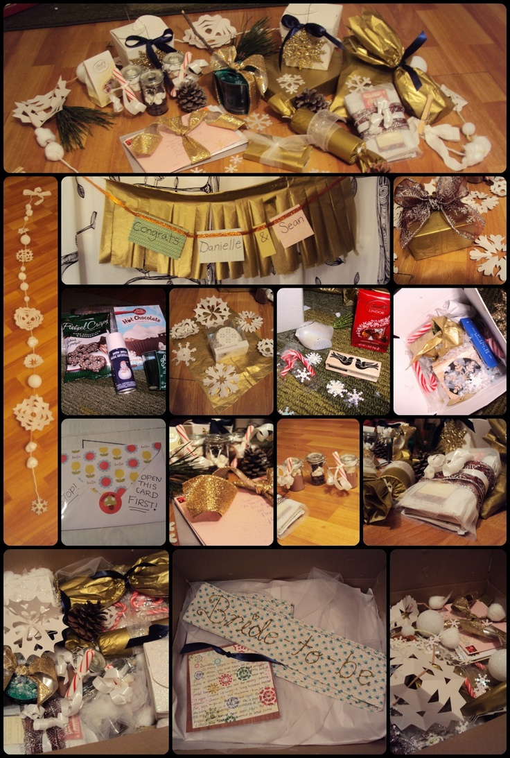 I like boring things.: Throwing a Long Distance Bridal Shower