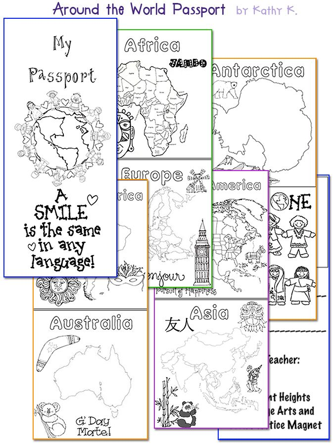 Passport Around the World