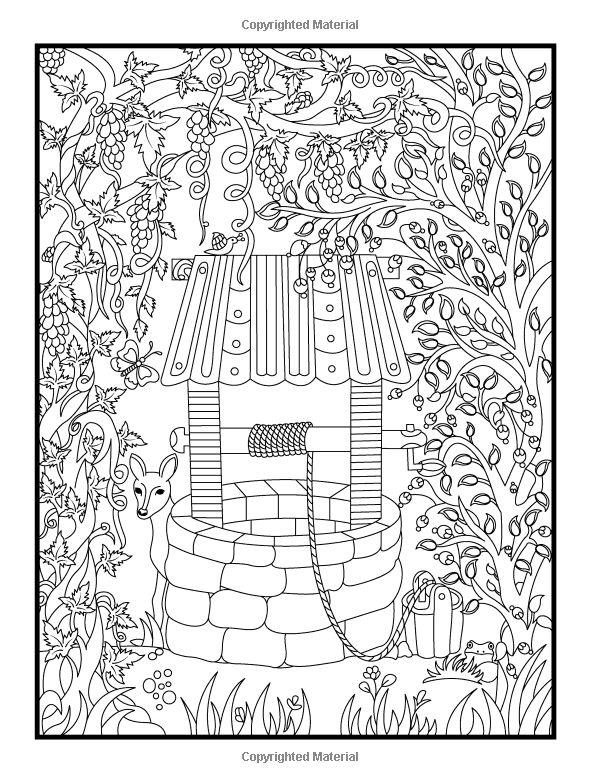 Hidden Garden An Adult Coloring Book With Secret Forest
